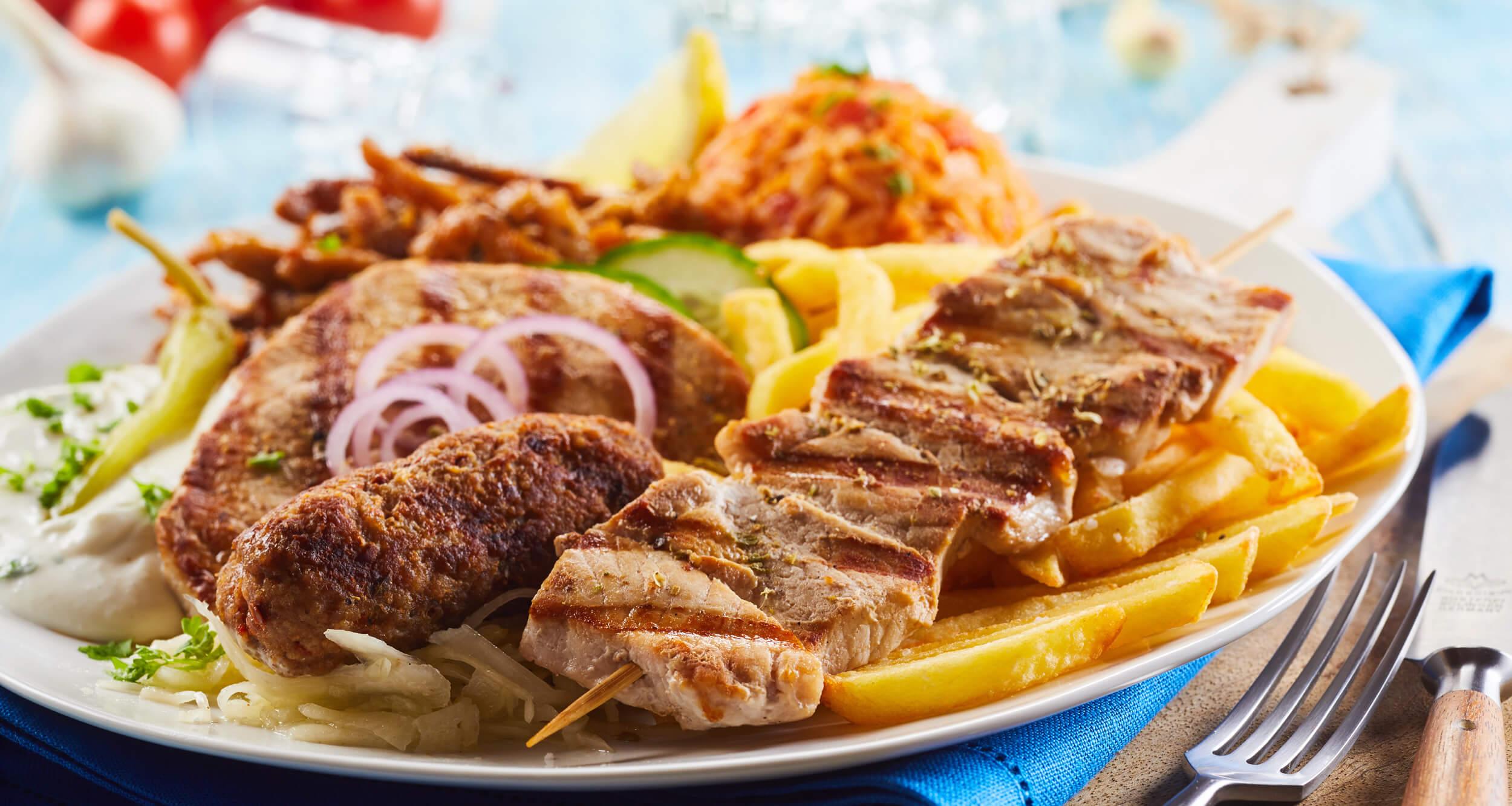 Restaurant Akropolis in Elstorf Motiv